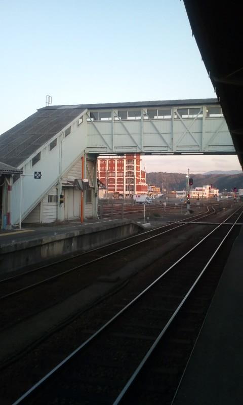 益田の夕日