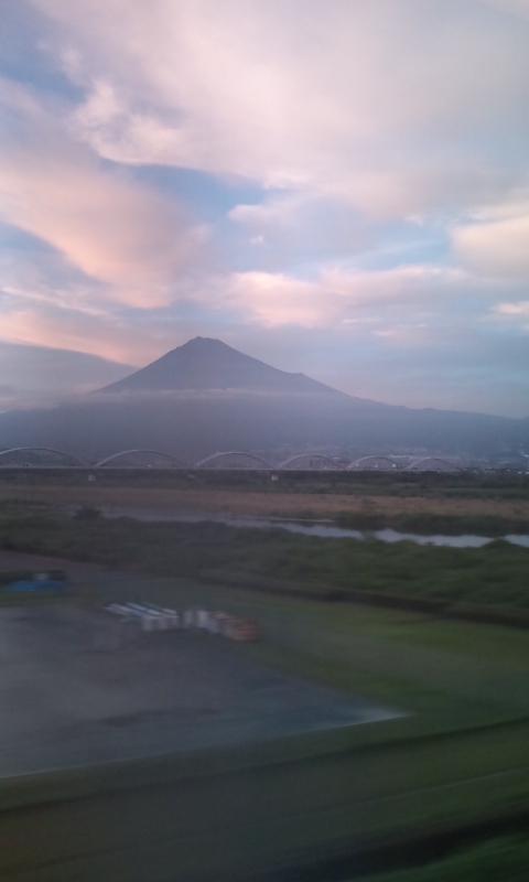今日の富士